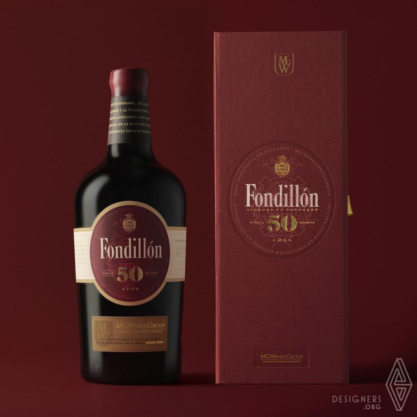 Fondillon 50 years Wine Bottle