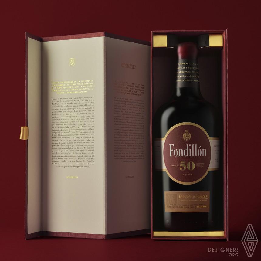 Fondillon 50 years Wine Bottle Image