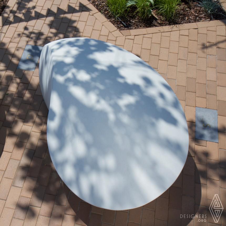 Kavics Concrete Bench Image