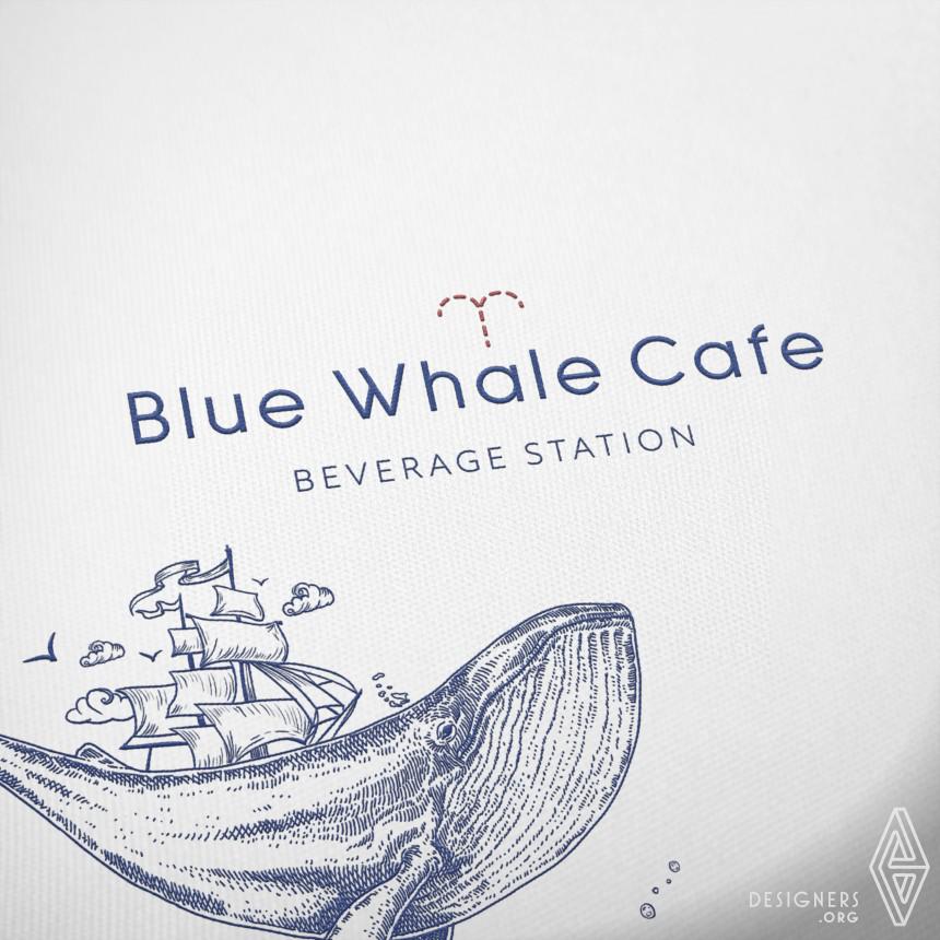 Blue Whale Café Café Branding