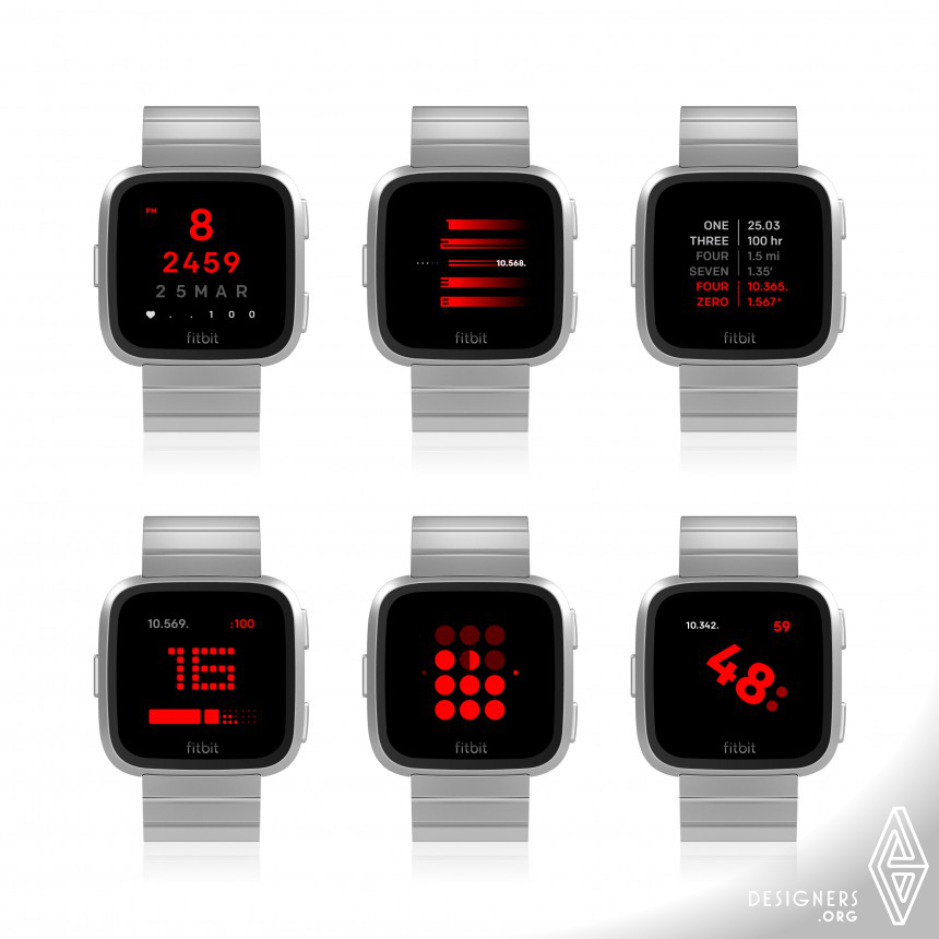 TTMM for Fitbit Clock Face Apps