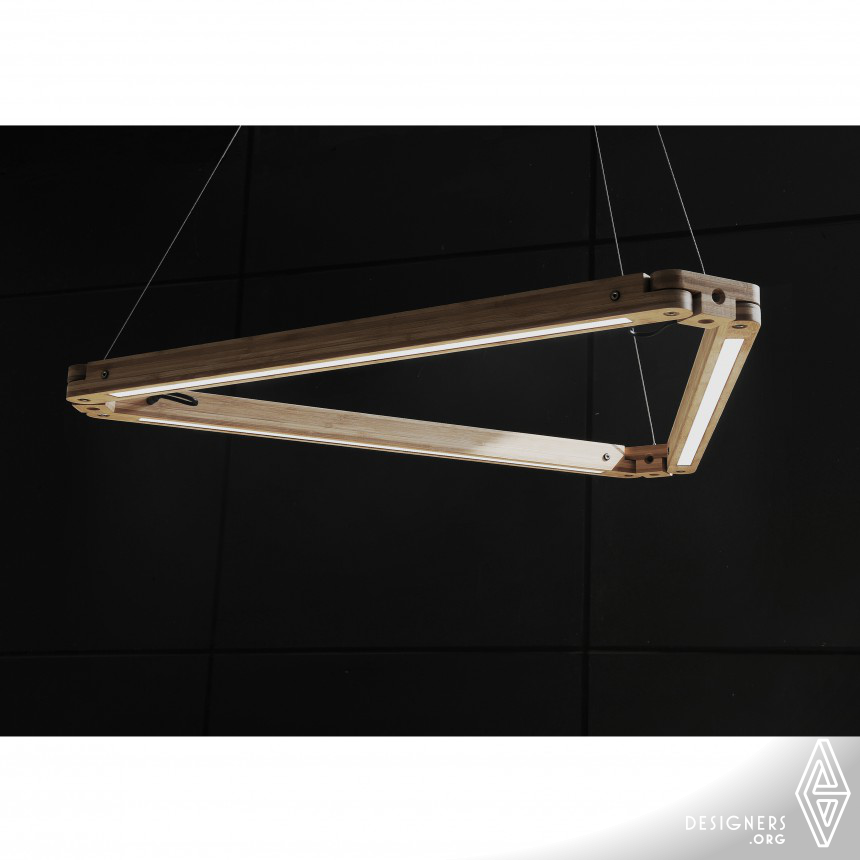 The Combined Type LED Bamboo Lamp
