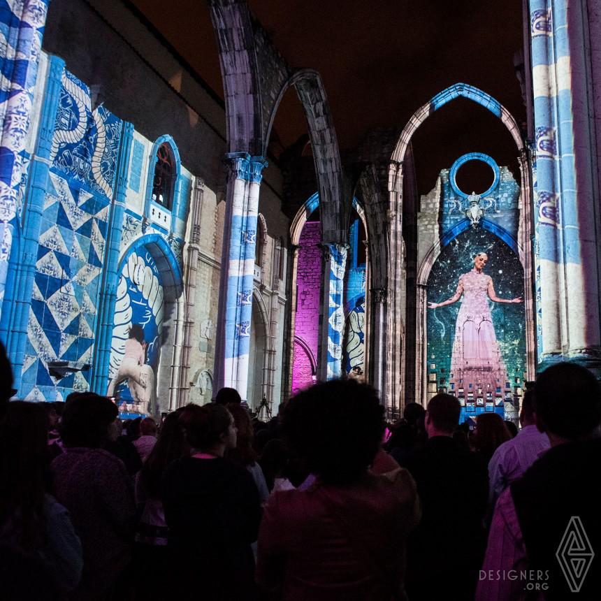 Lisbon Under Stars Immersive Light Show Image