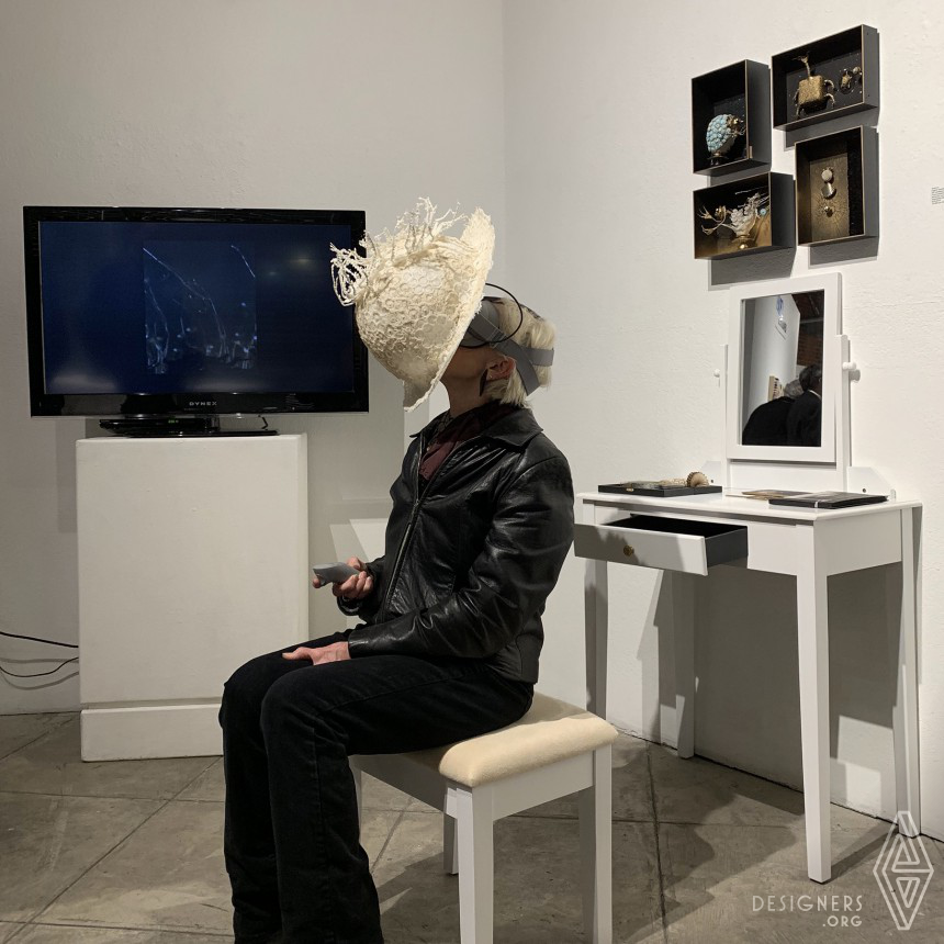 Relation Ship Stop Motion VR Multimedia Installation Image