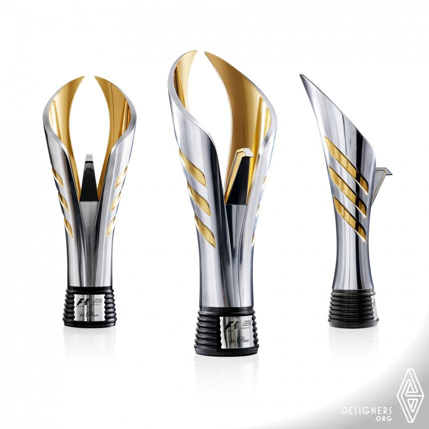 F1 Trophy Design Race Winners Award Image
