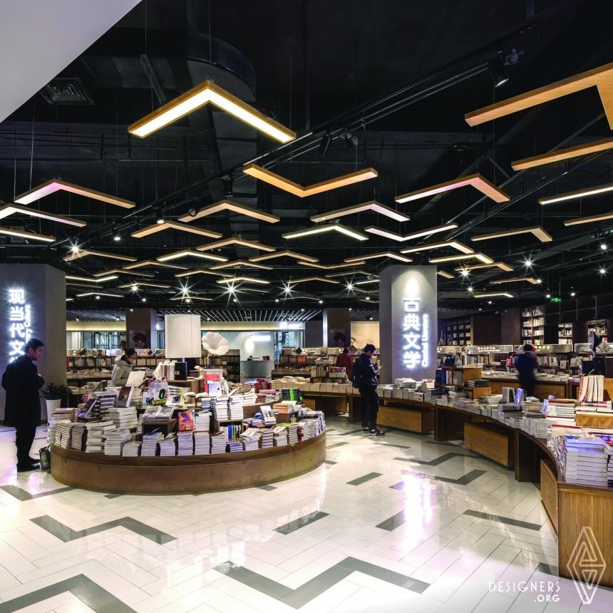 Jiuwu Culture City , Shenyang Bookstore, Shopping Mall Image