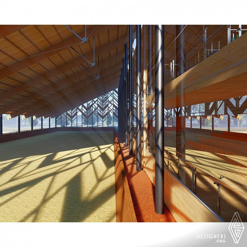 Inspirational Equestrian Pavilion Design