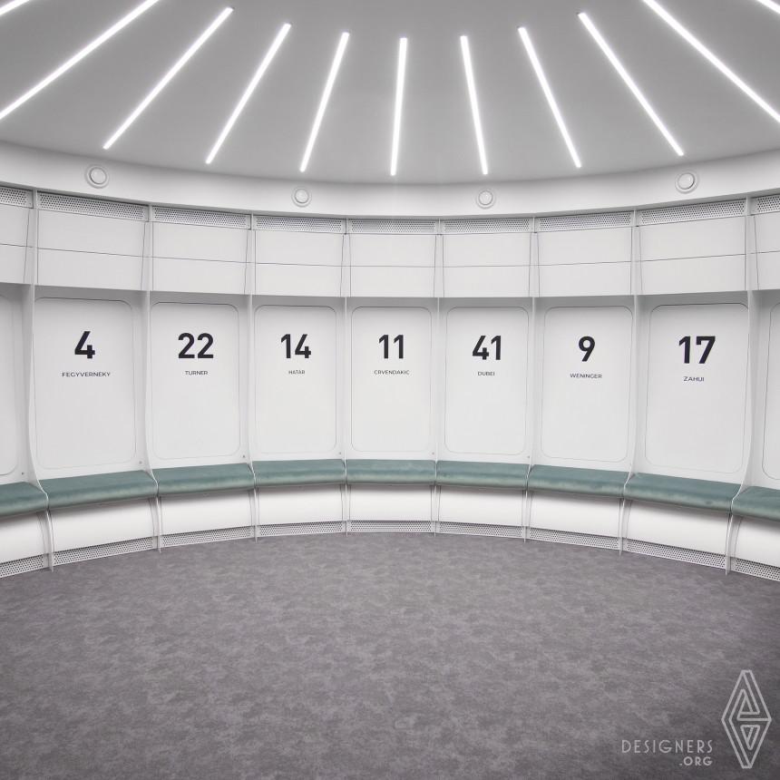 Sopron Basket Locker Room Image