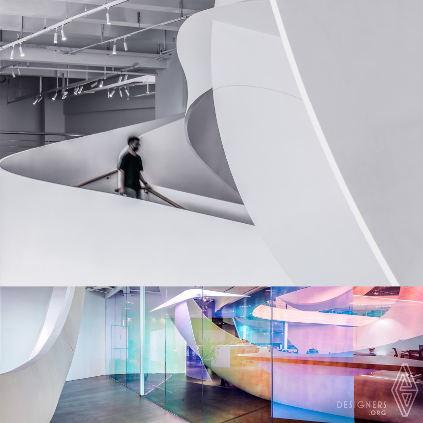 Inspirational Office and Exhibition Hall Design