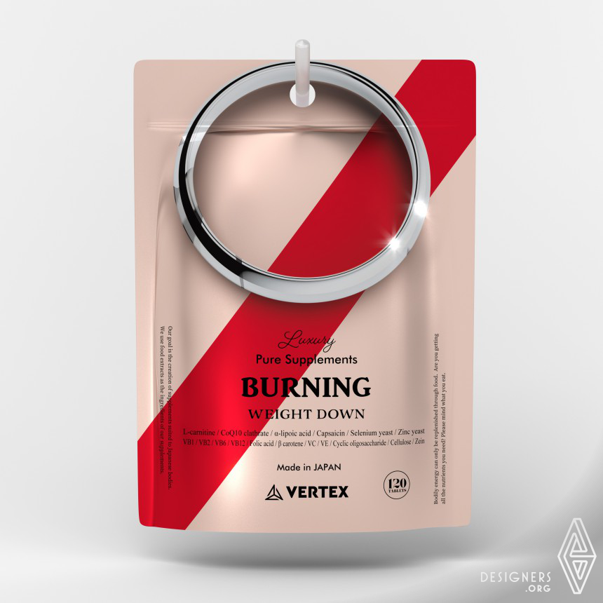 Promise Ring Vertex Supplements Packaging
