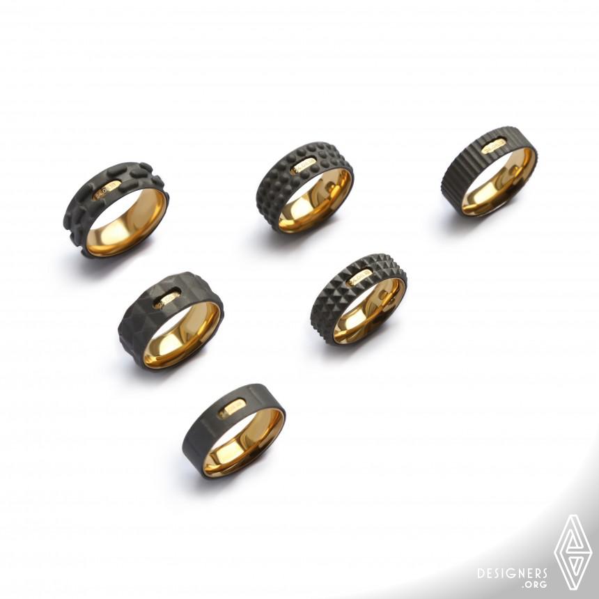 Industrial Wedding Rings