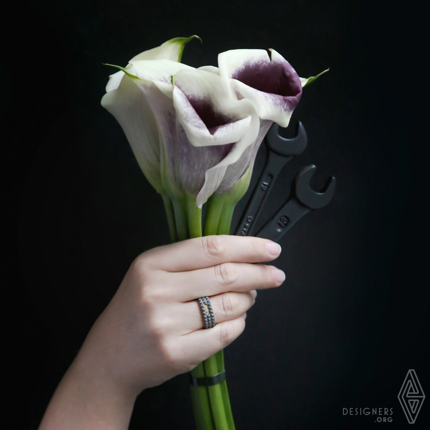 Industrial Wedding Rings Image
