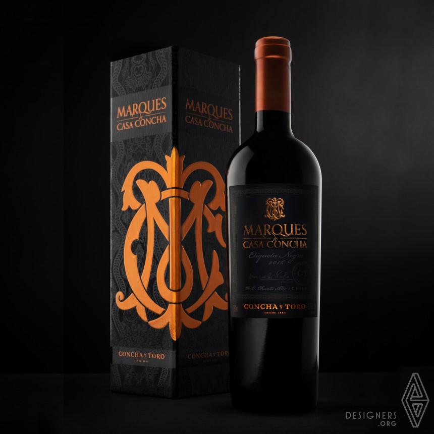 Marques de Casa Concha Wine Packaging