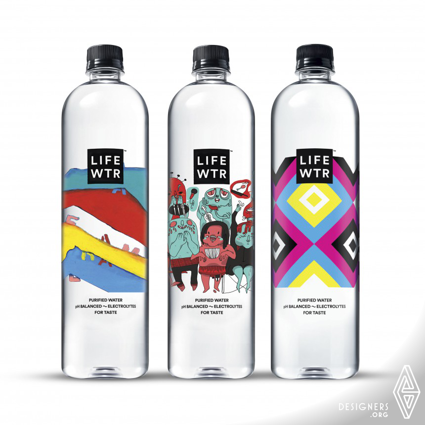 LIFEWTR Series 4: Arts in Education Bottled Water