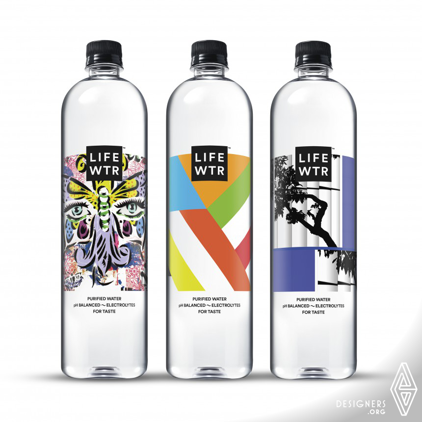 LIFEWTR Series 5: Arts in Education Bottled Water