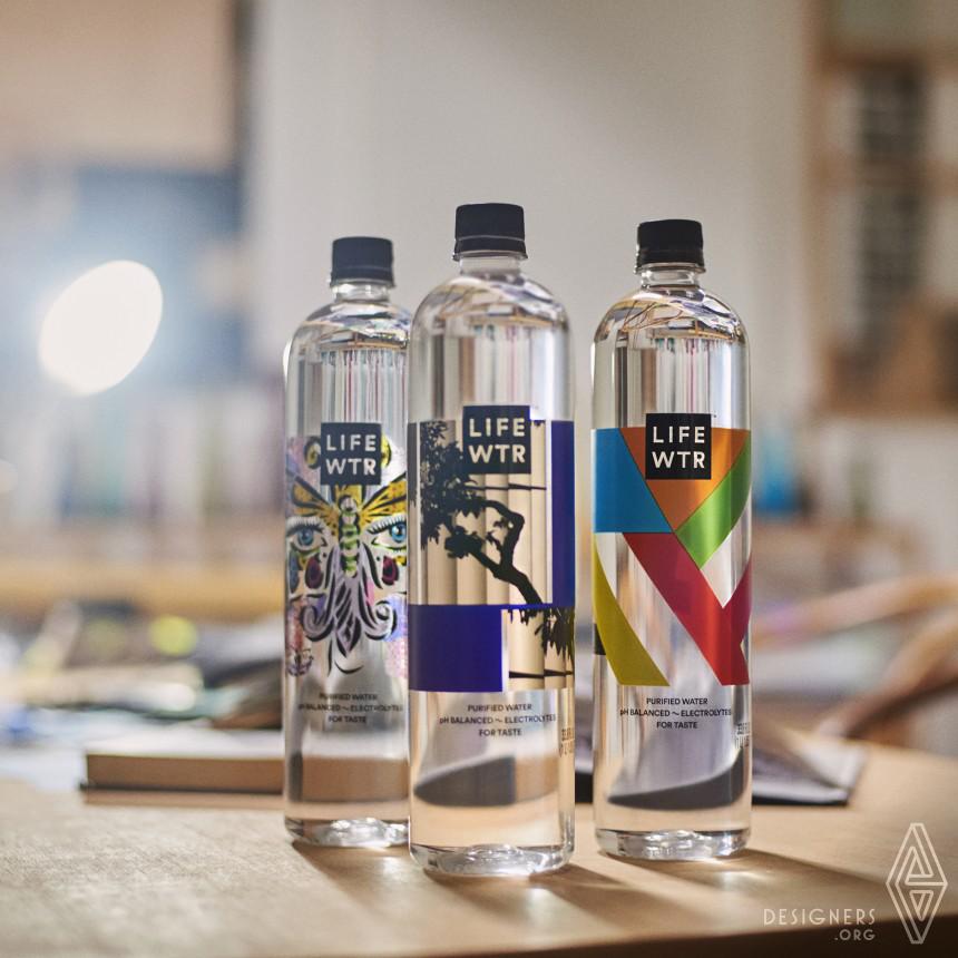 Inspirational Bottled Water Design