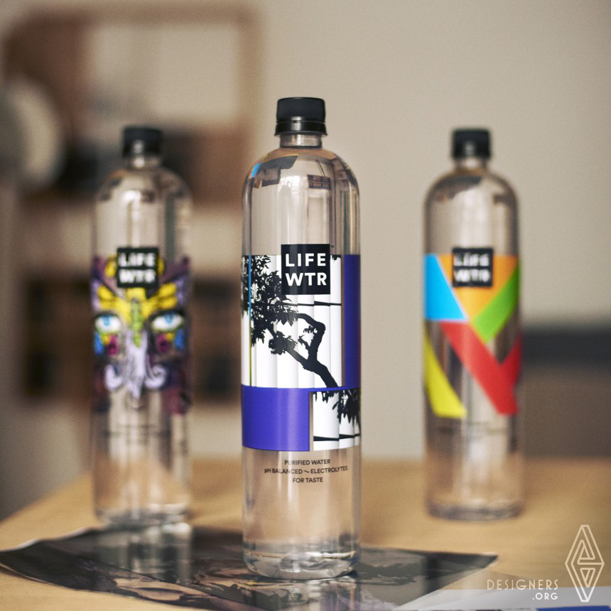 LIFEWTR Series 5: Arts in Education Bottled Water Image