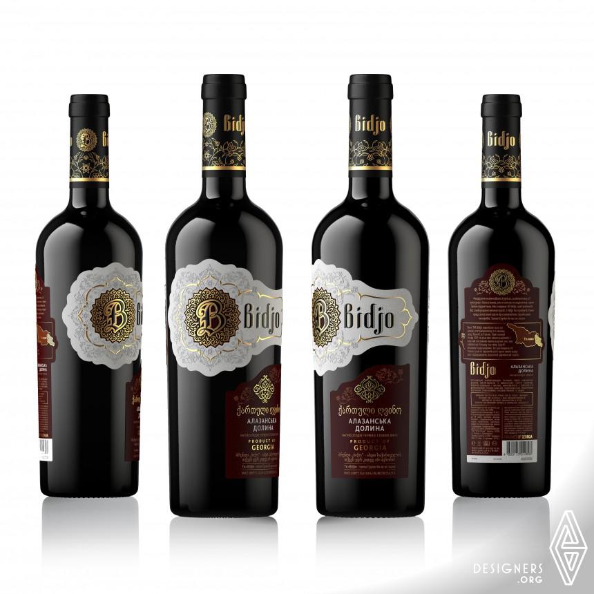 Bidjo Wines Label