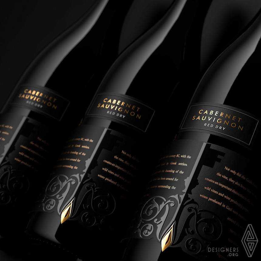 Mysterious Castle Wines Label Image