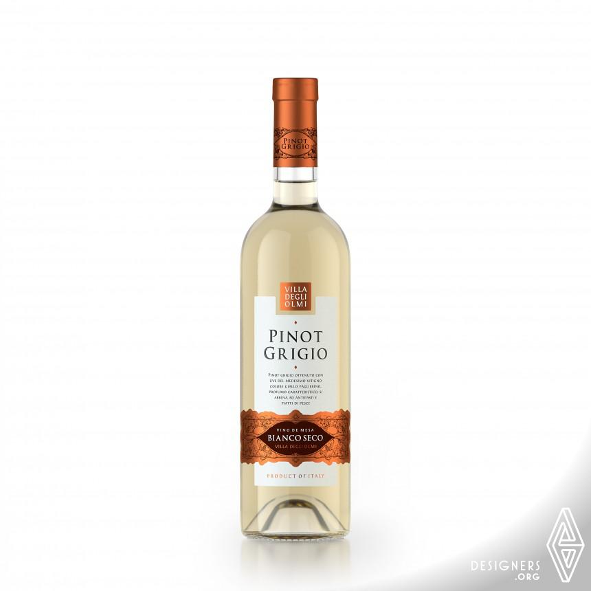 Villa Degli Olma Wine Label