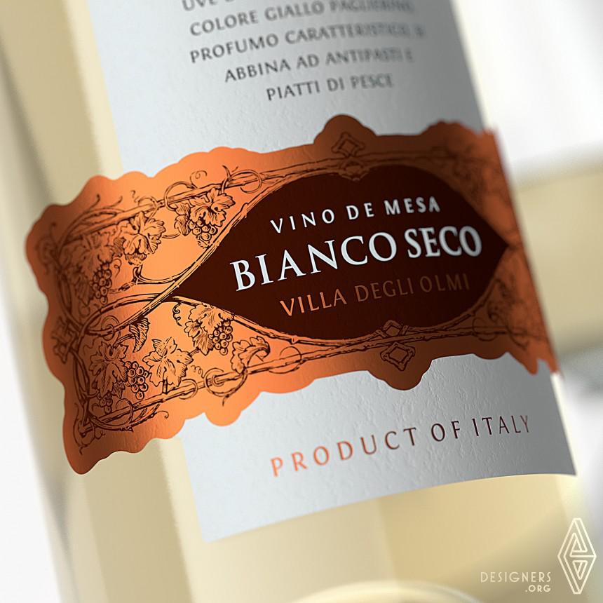 Villa Degli Olma Wine Label Image