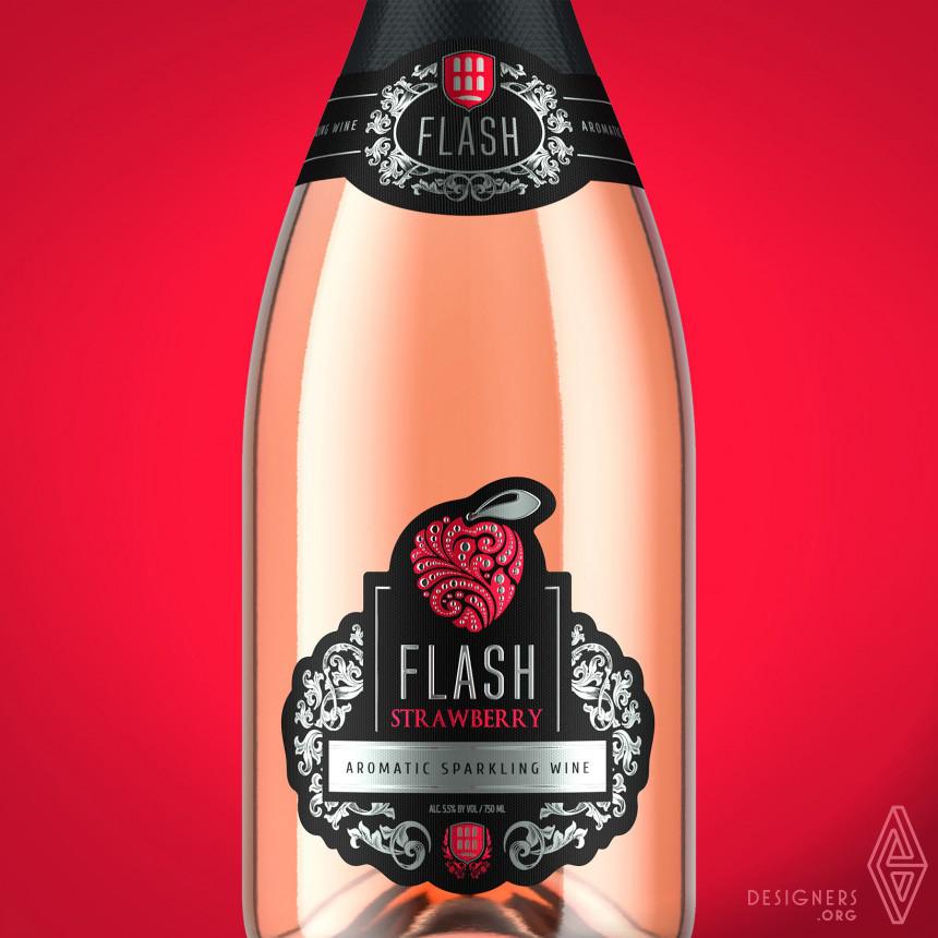 Flash Sparkling Wines Label Image