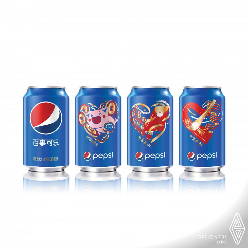 Pepsi Year of the Pig Ltd Ed Beverage Packaging
