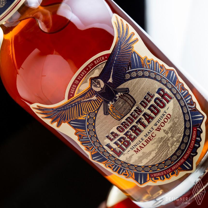 La Orden del Libertador Whisky Malbec Wood Image