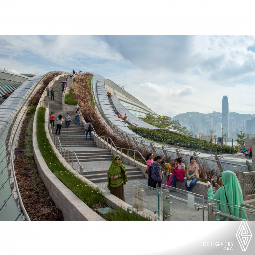 Hong Kong West Kowloon Station High-Speed Rail Terminus