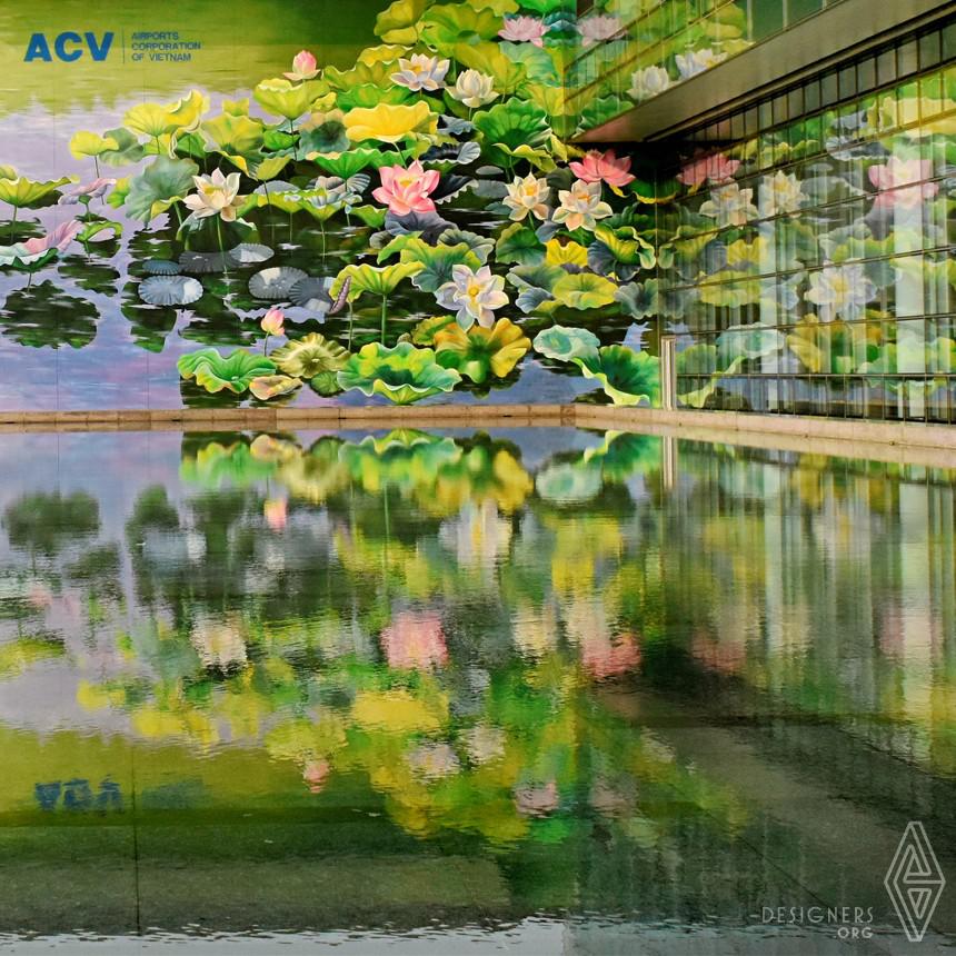 Twin Lotus  Murals  Image