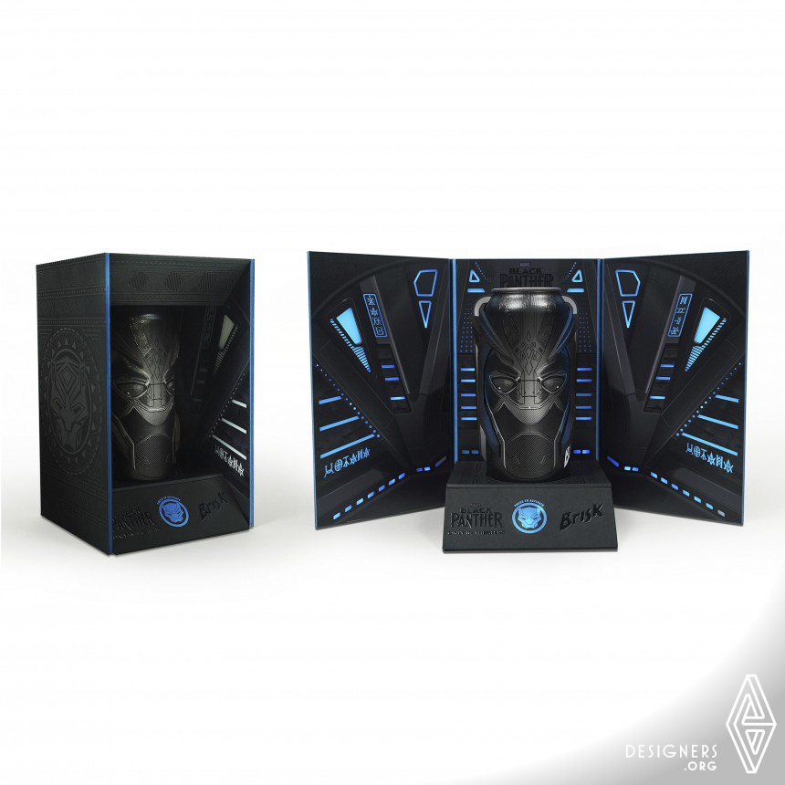 Brisk x Marvel Studios: Wakanda Forever Limited Edition Packaging