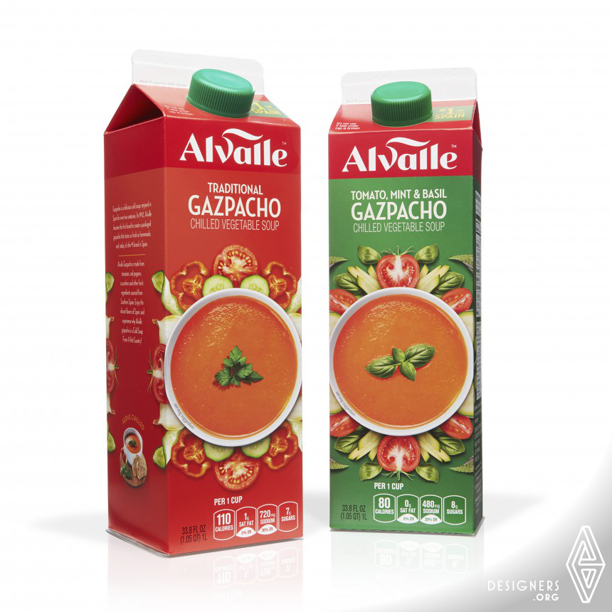 Alvalle Redesign Food Packaging