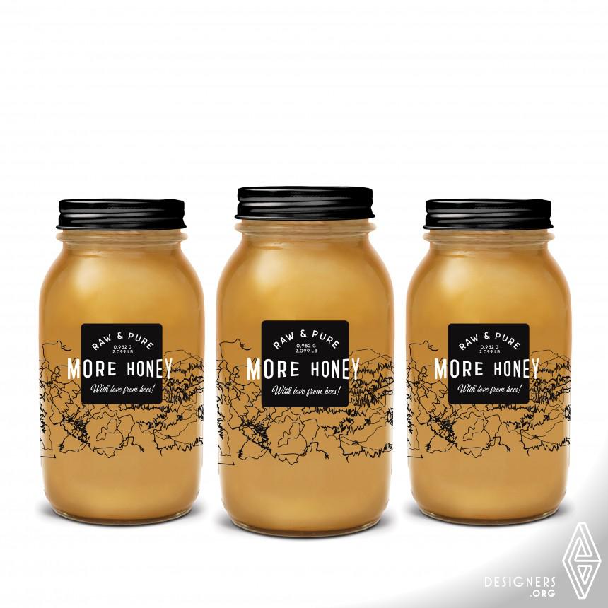 More Honey Packaging Design