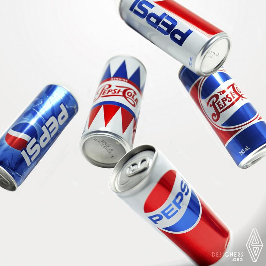 Pepsi Generations Beverage Packaging