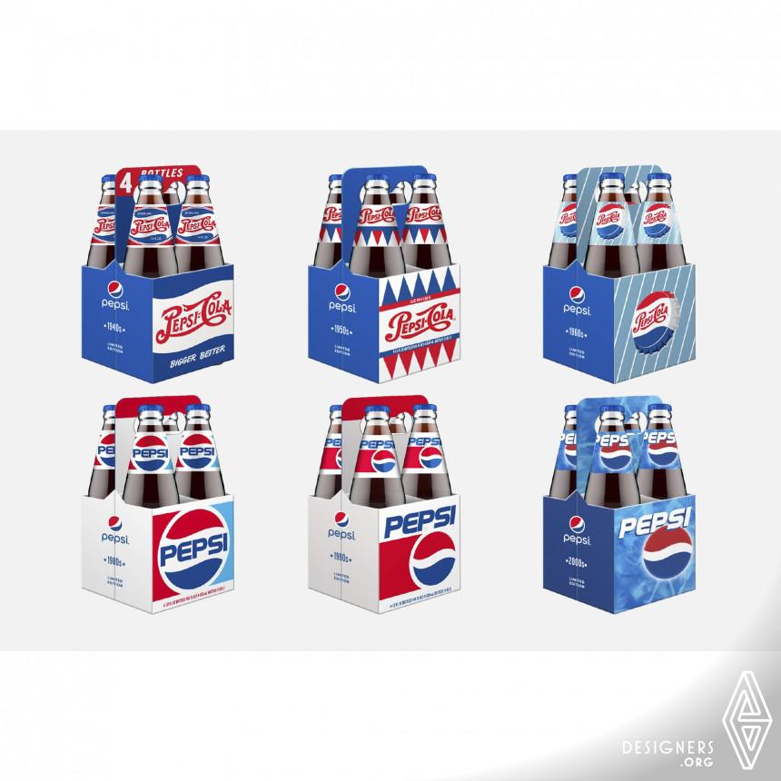 Pepsi Generations Beverage Packaging Image
