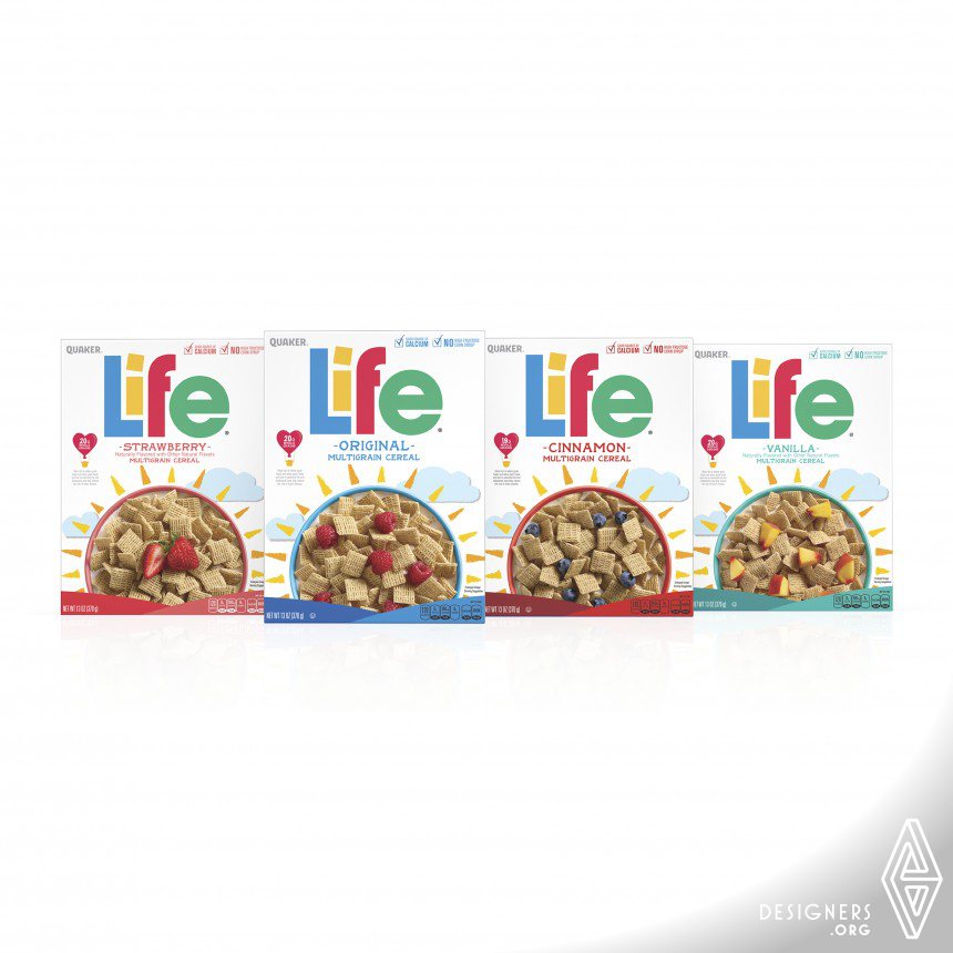 Life Redesign Cereal Packaging