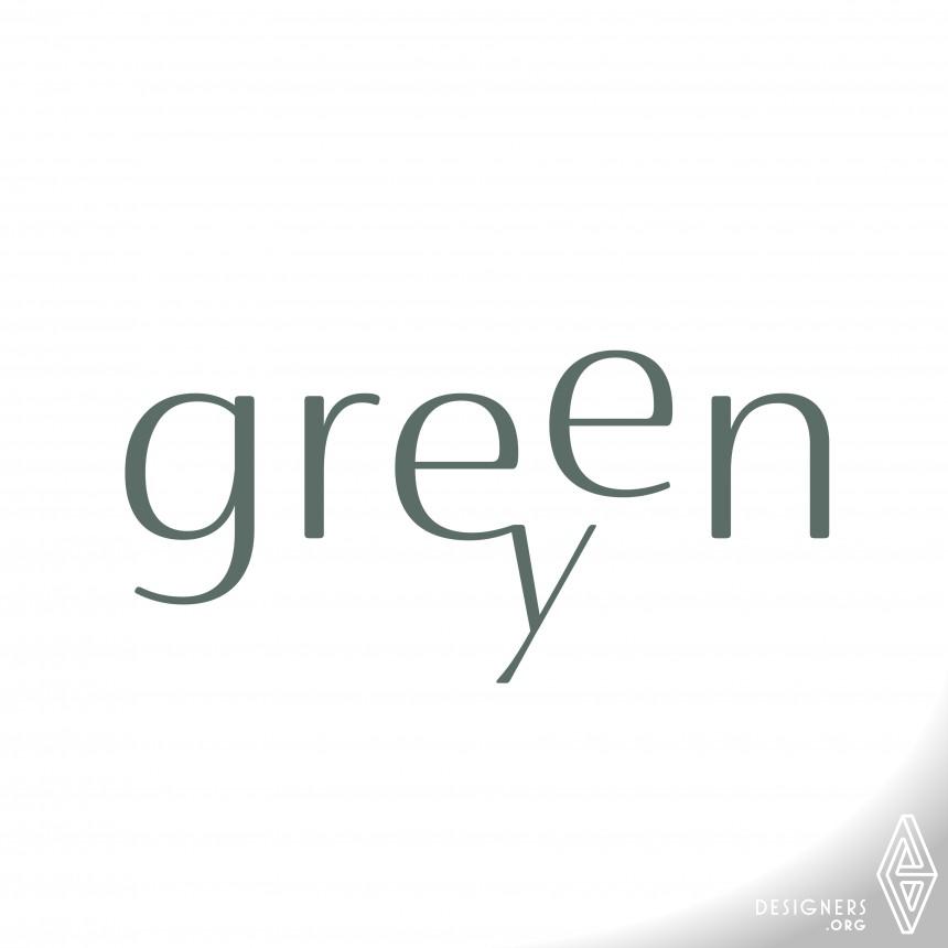 Green Grey Fashion Brand Identity