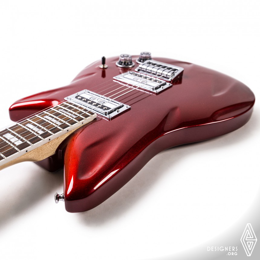 Fastback Electric Guitar Image