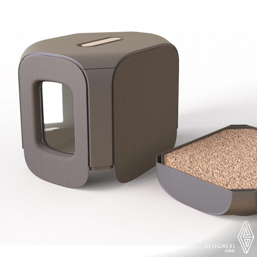 Inspirational Lifestyle Cat litter box Design