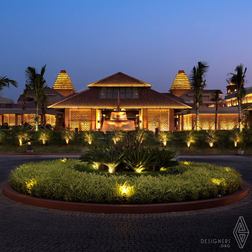 AVADH HELICONIA Club House Landscaping