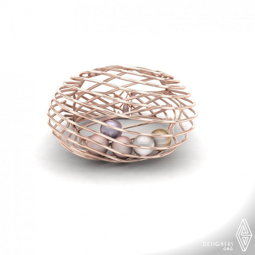 Dancing Pearls Ring Image