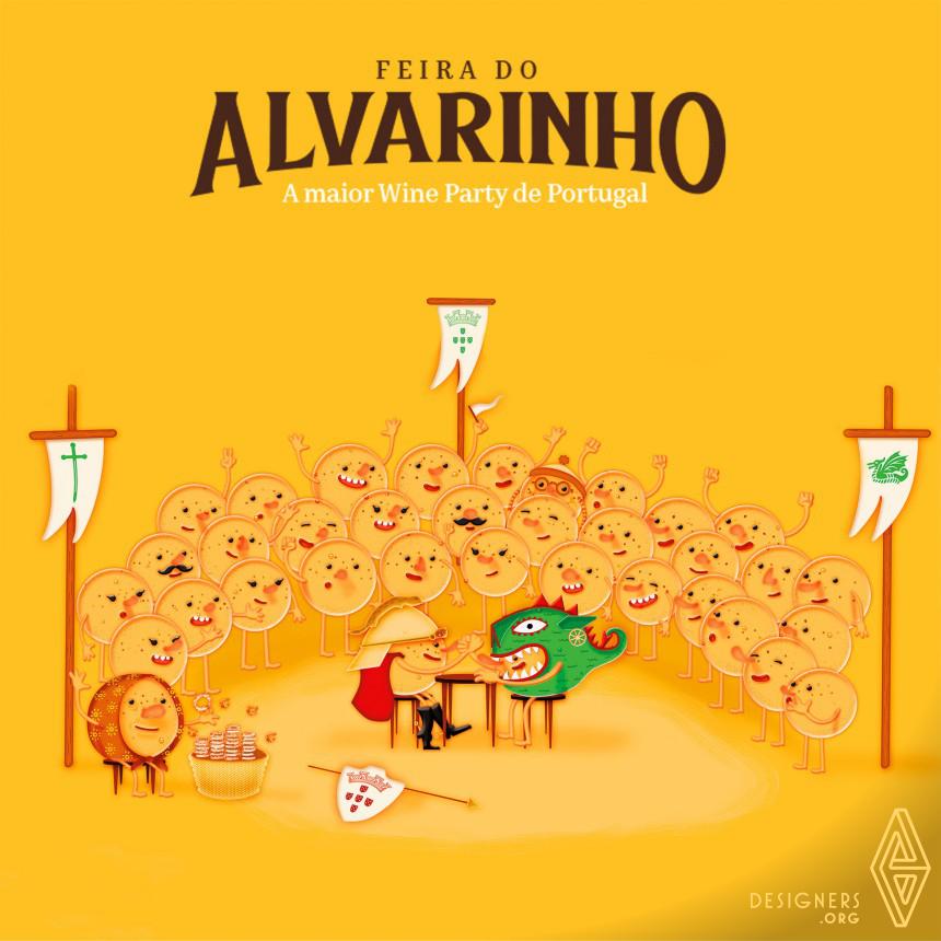 Feira do Alvarinho Advertising Campaign Image