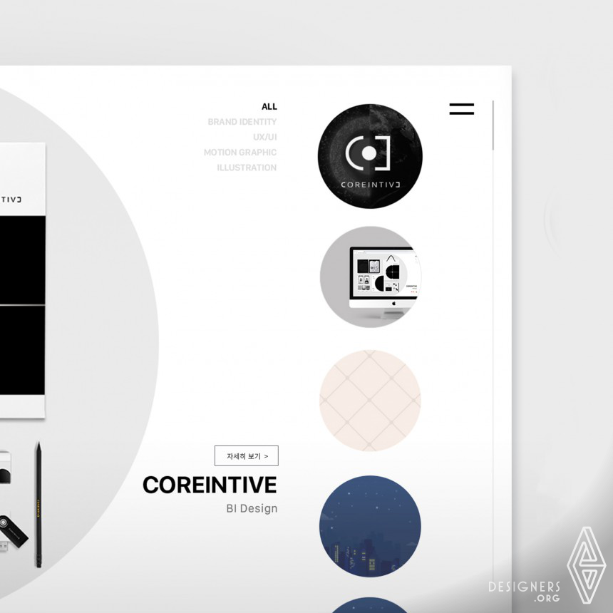 Great Design by Coreintive
