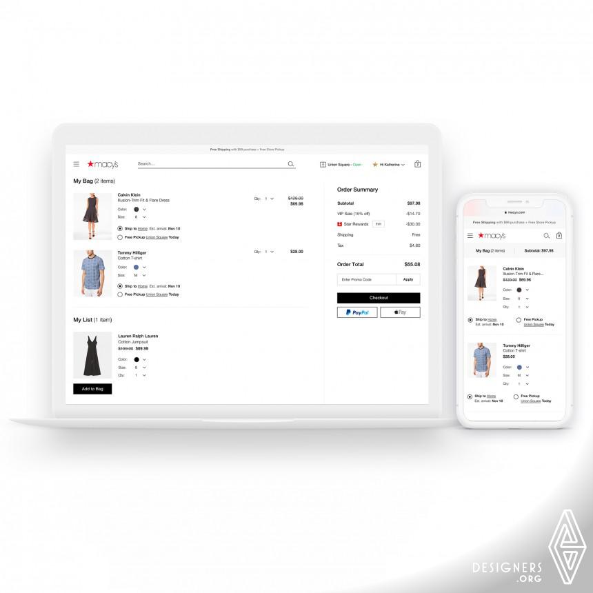 Macys Website Redesign Image