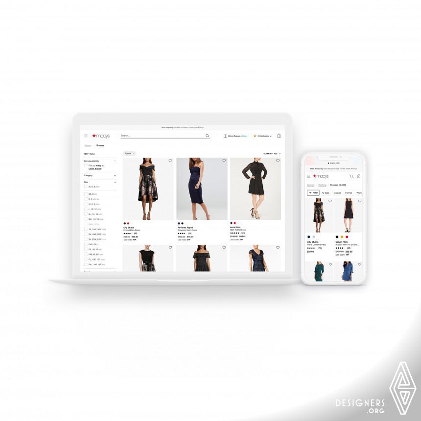 Macys Website Redesign