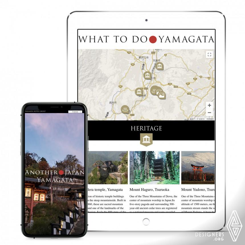 Another Japan Yamagata Website Image