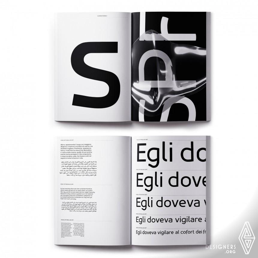 Inspirational Typeface Design Design