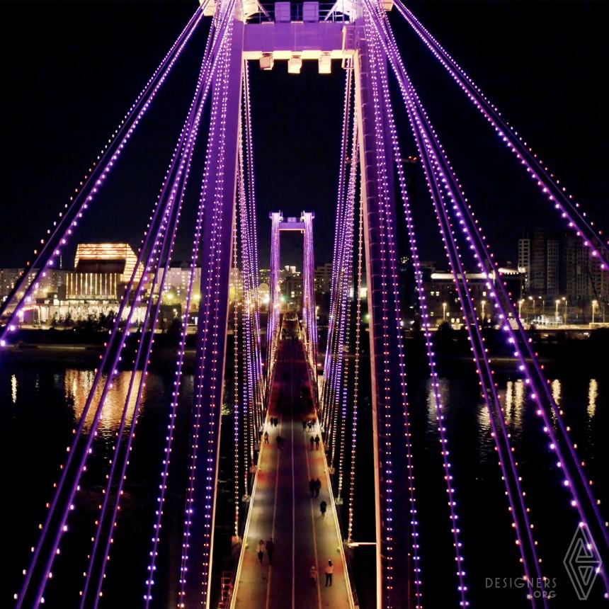 The Heart Of Siberia Urban Lighting Show