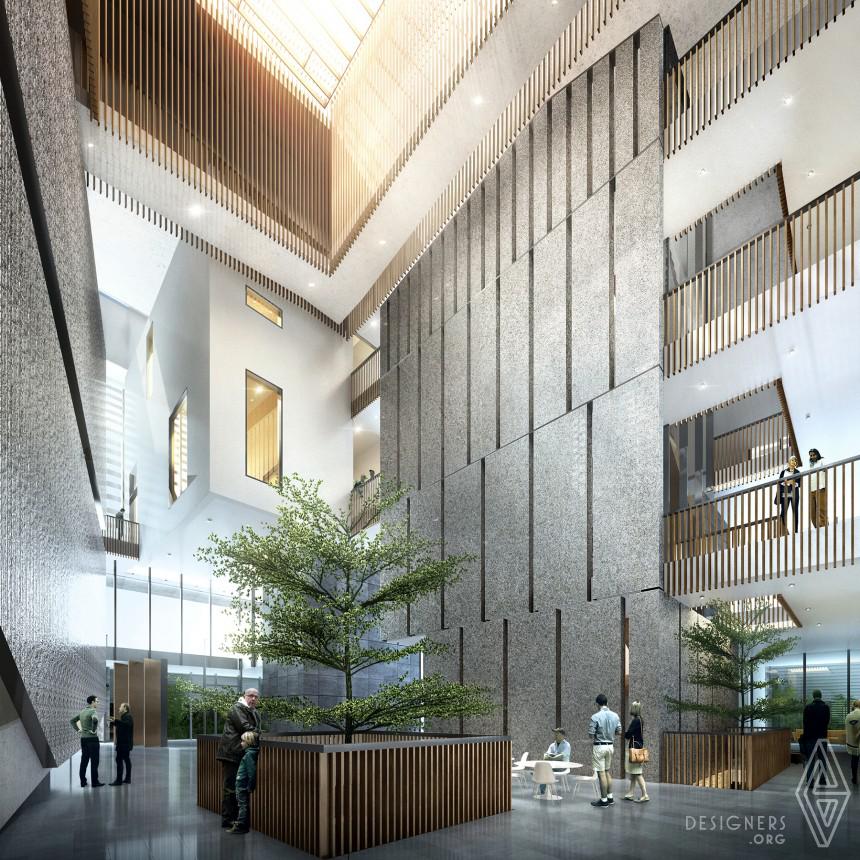 Inspirational Cultural Center Design