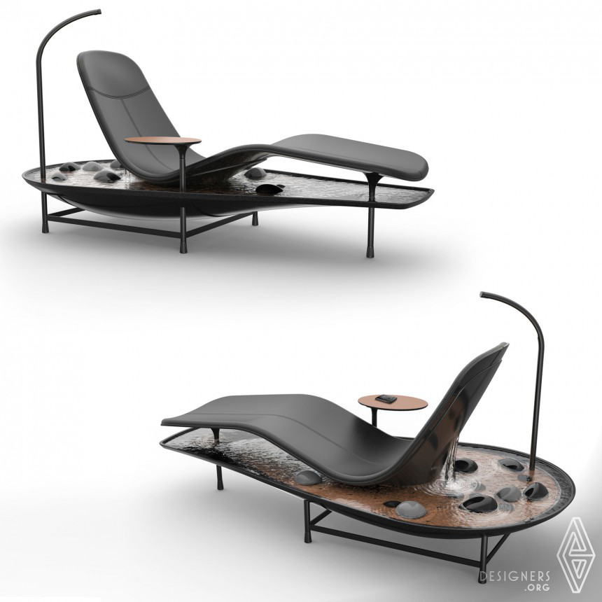 Dhyan Chaise Lounge Concept Image